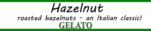 roasted hazelnuts and Italian classic