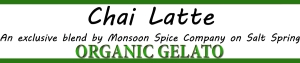Organic Chai latte