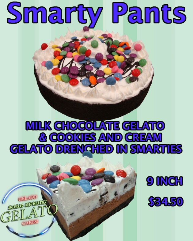 THE SMARTY PANTS CAKE