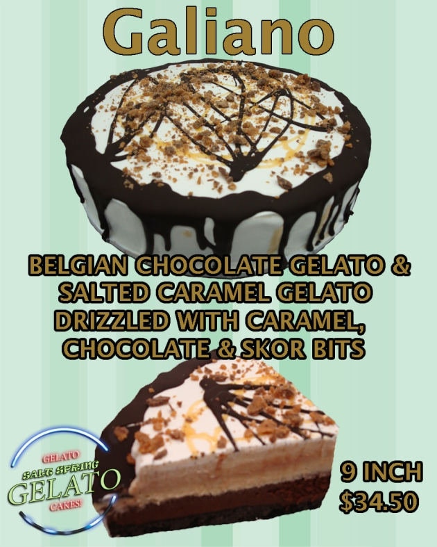THE GALIANO CAKE